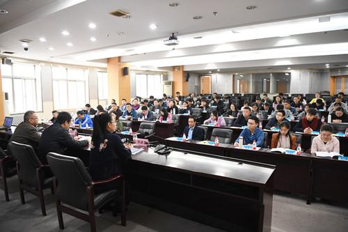 宿迁市政务公开和政府信息公开专题培训班在我校顺利开班