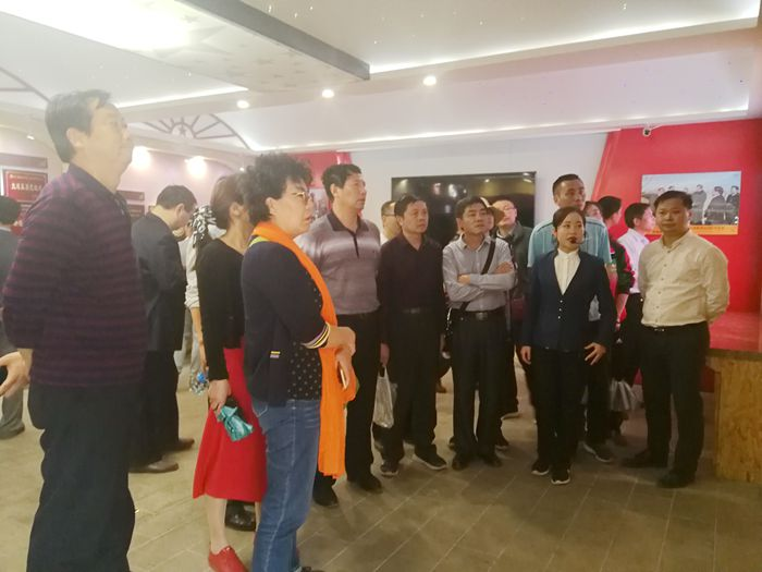 江西省司法行政系统领导干部参观延安红色教育基地