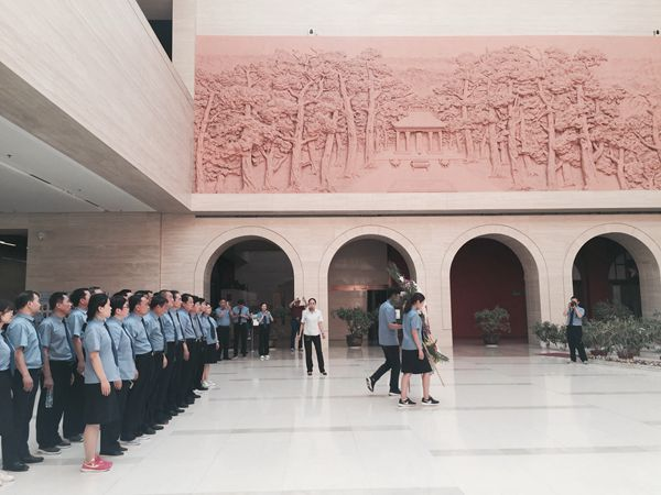 枣庄市基层检察院(台儿庄、峄城)业务与党性修养提升班(第一期)红色革命传统教育