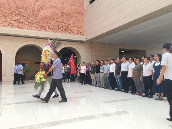 德保县政法系统新时代领导干部法治能力提升研修班(第二期)参观延安红色教育基地
