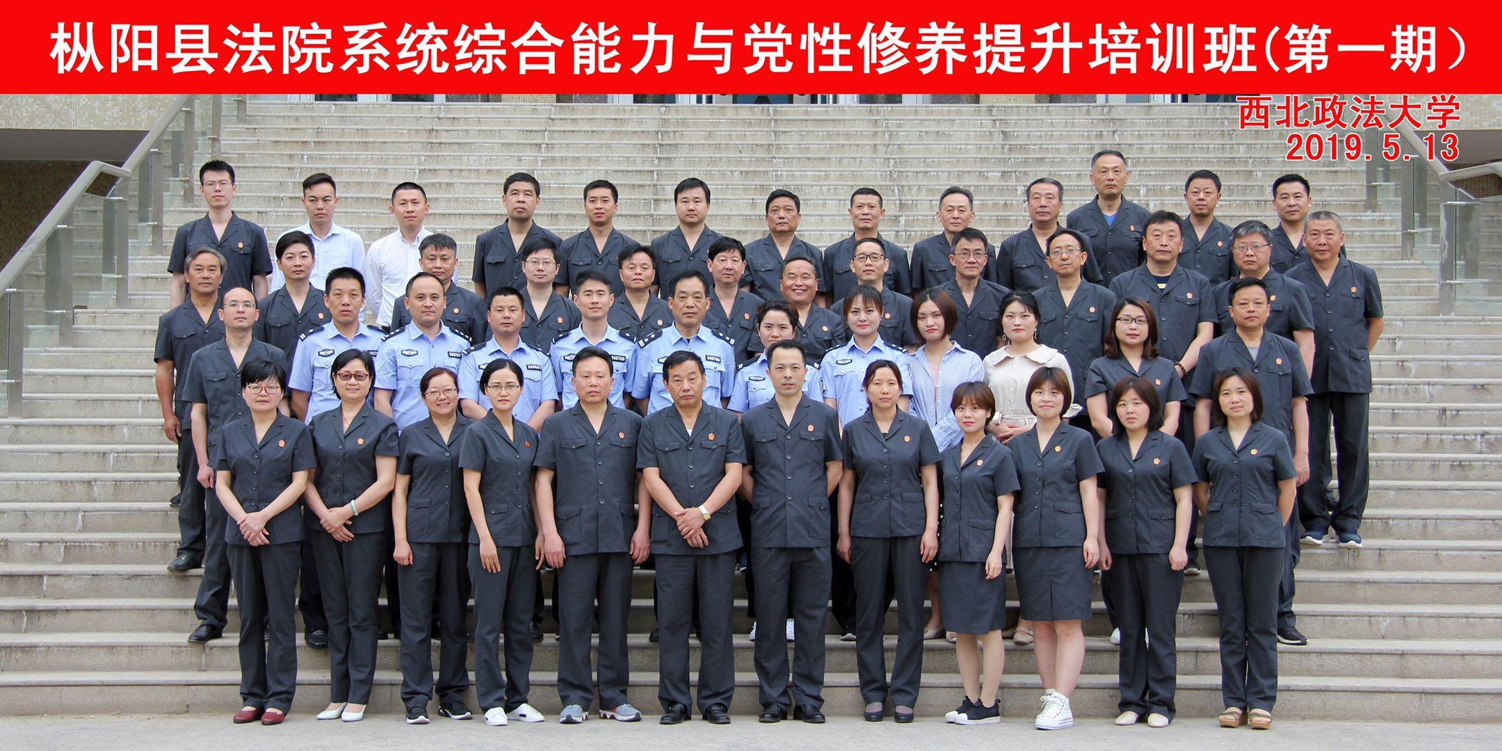 枞阳县法院系统综合能力